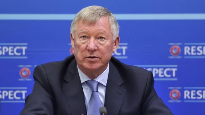 Sir Alex Ferguson war von 1986 bis 2013 Trainer bei Manchester United