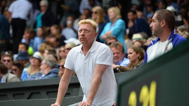 Boris Becker fiebert beim Wimbledon-Finale mit