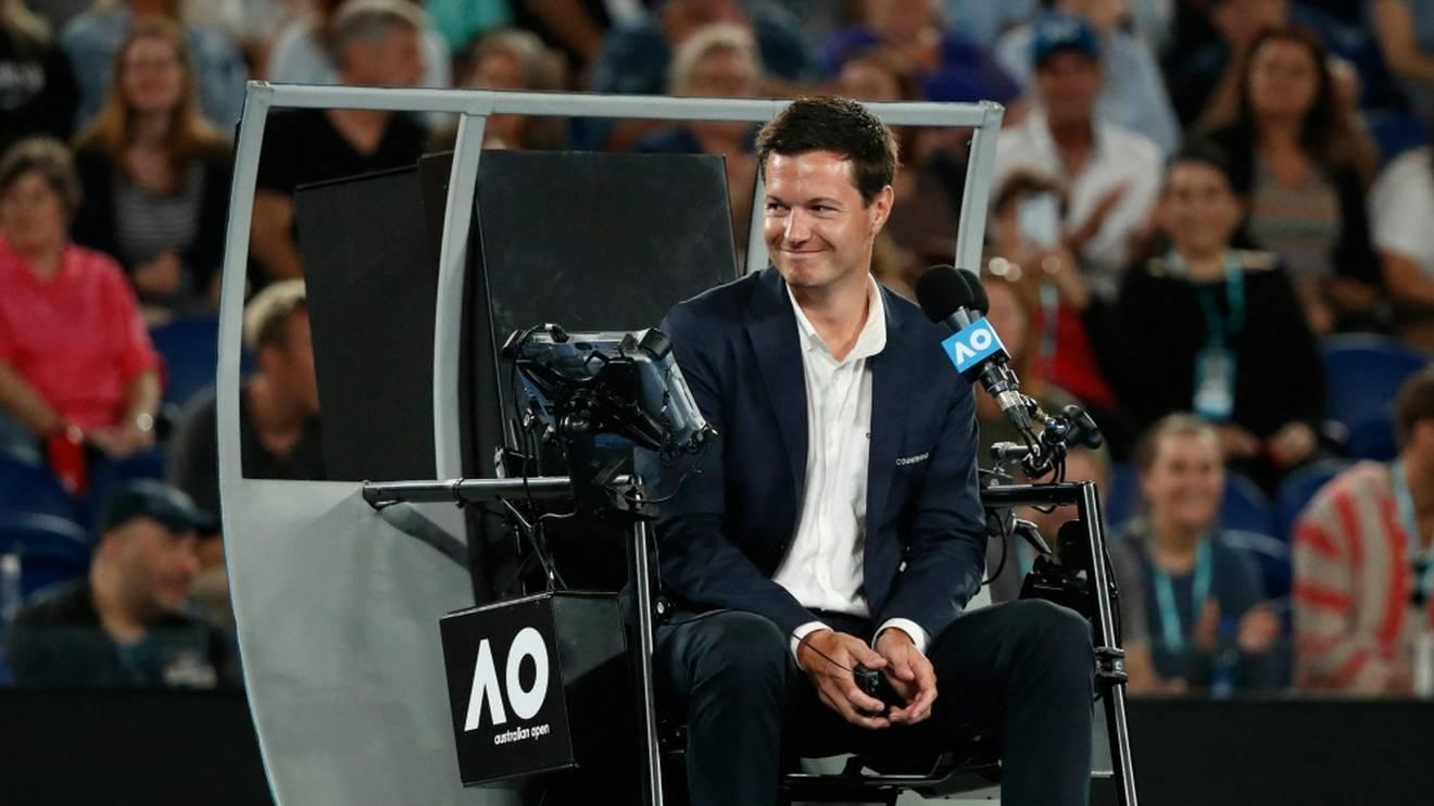 Nico Helwerth leitet das Herren-Finale der Australian Open