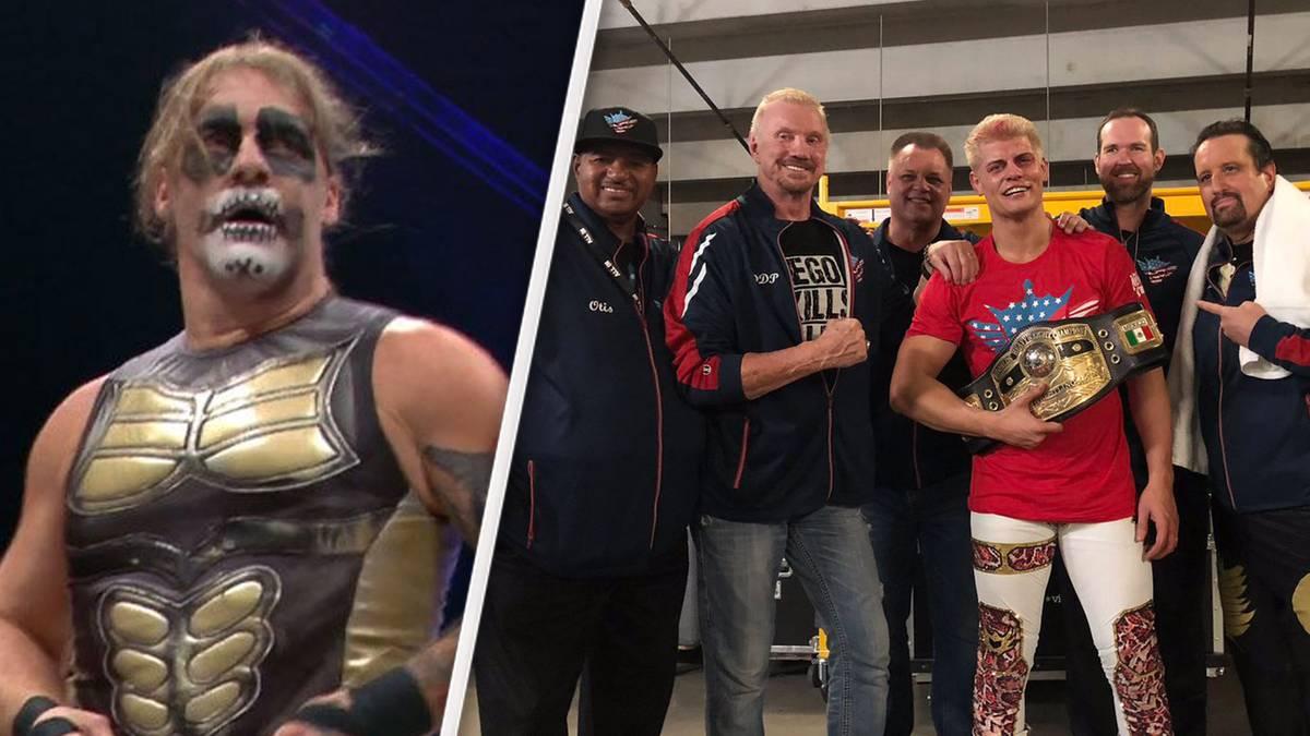 Bei All In gab es einen Überraschungsauftritt von Chris Jericho (l.) und einen großen Titelgewinn von Cody Rhodes