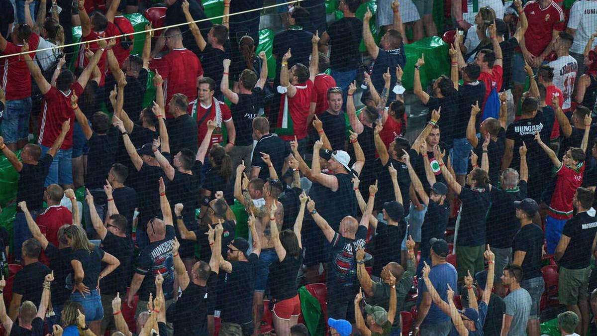 """Ungarn schimpft nach Fan-Strafe: """"Erbärmlich und feige"""""""