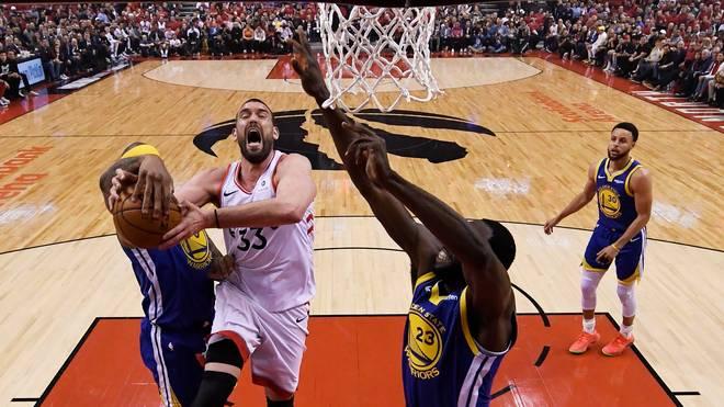 Die Toronto Raptors wollen die Golden State Warriors stürzen