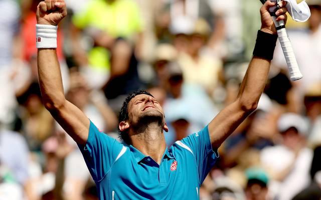 Novak Djokovic ist alleiniger Rekordsieger bei den Masters