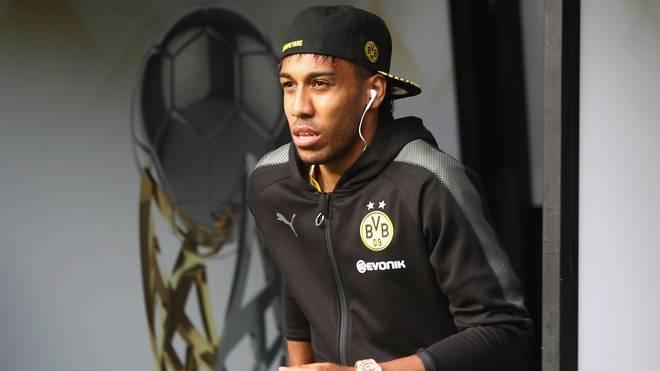 Pierre-Emerick Aubameyang steht in Dortmund bis 2020 unter Vertrag
