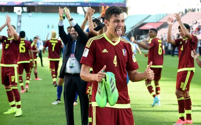 Venezuela feiert den Einzug ins Finale der U20-WM