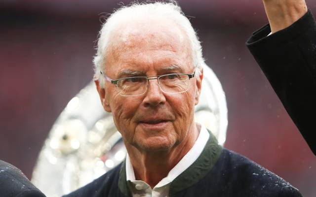 Franz Beckenbauer hat einen Augeninfarkt erlitten