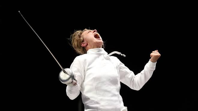 Britta Heidemann holte 2008 in Peking Gold Auf der Plance war Britta Heidemann jahrelang absolute Weltklasse. Höhepunkt war die GOldmedaille bei den Olympischen Spielen 2008 in Peking