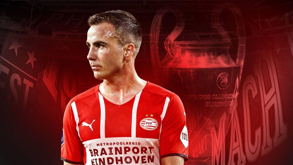 Mario Götze hat sich bis 2024 an die PSV Eindhoven gebunden
