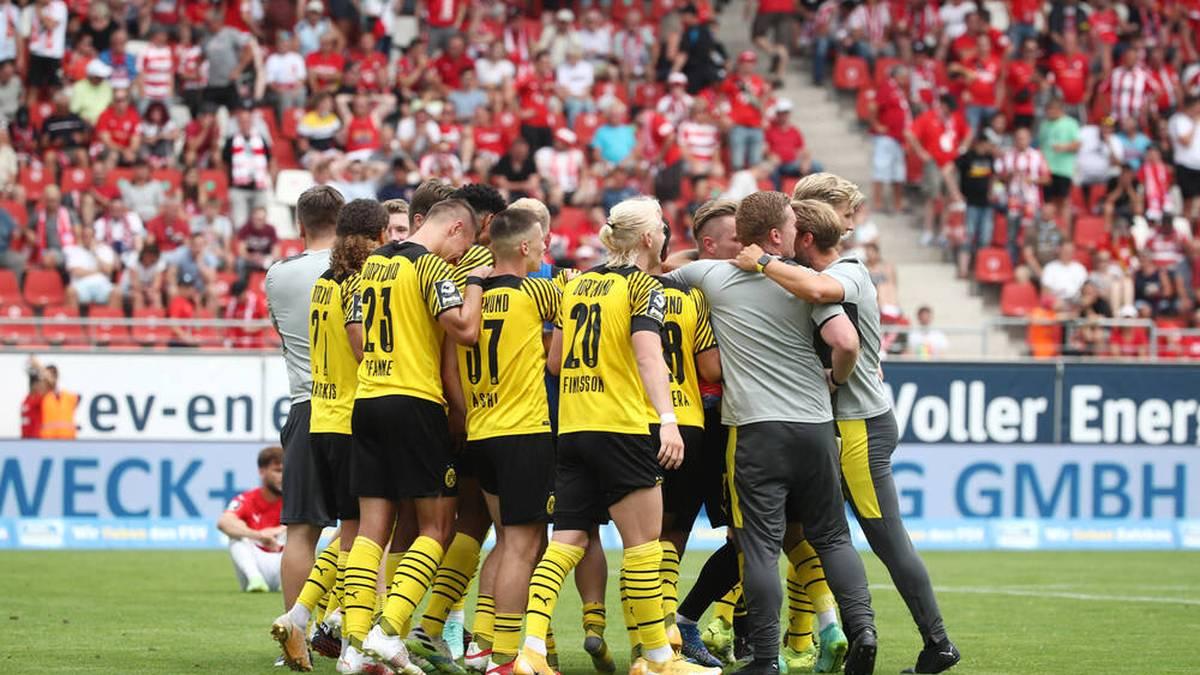 Borussia Dortmund II feiert einen erfolgreichen Auftakt