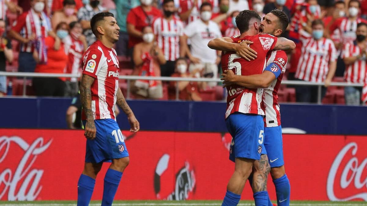 Atlético zittert sich zum Sieg