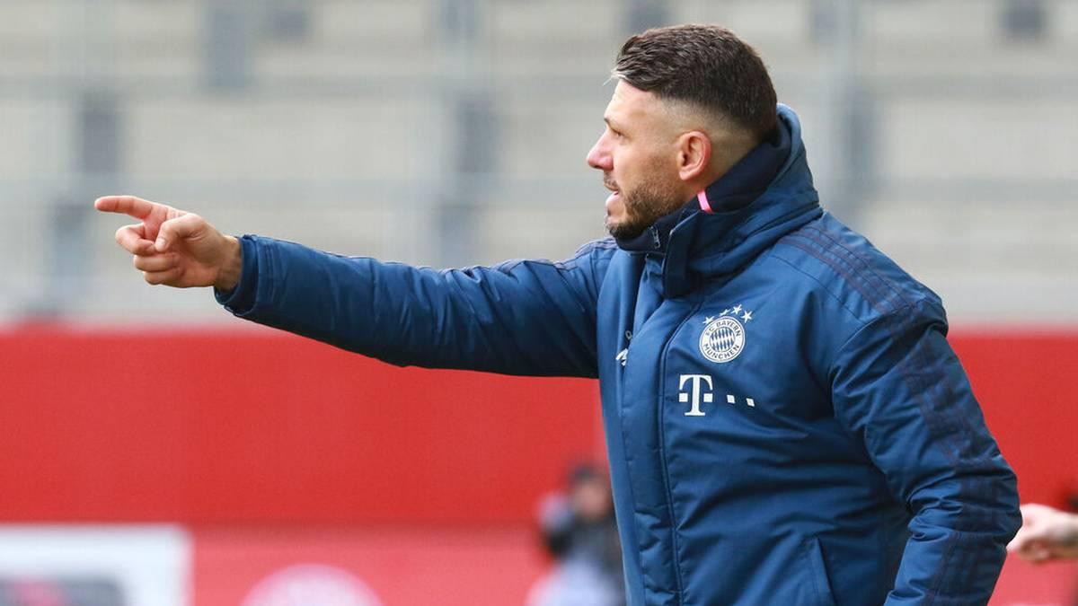 Martin Demichelis bei einem Spiel in der Youth League mit dem FC Bayern