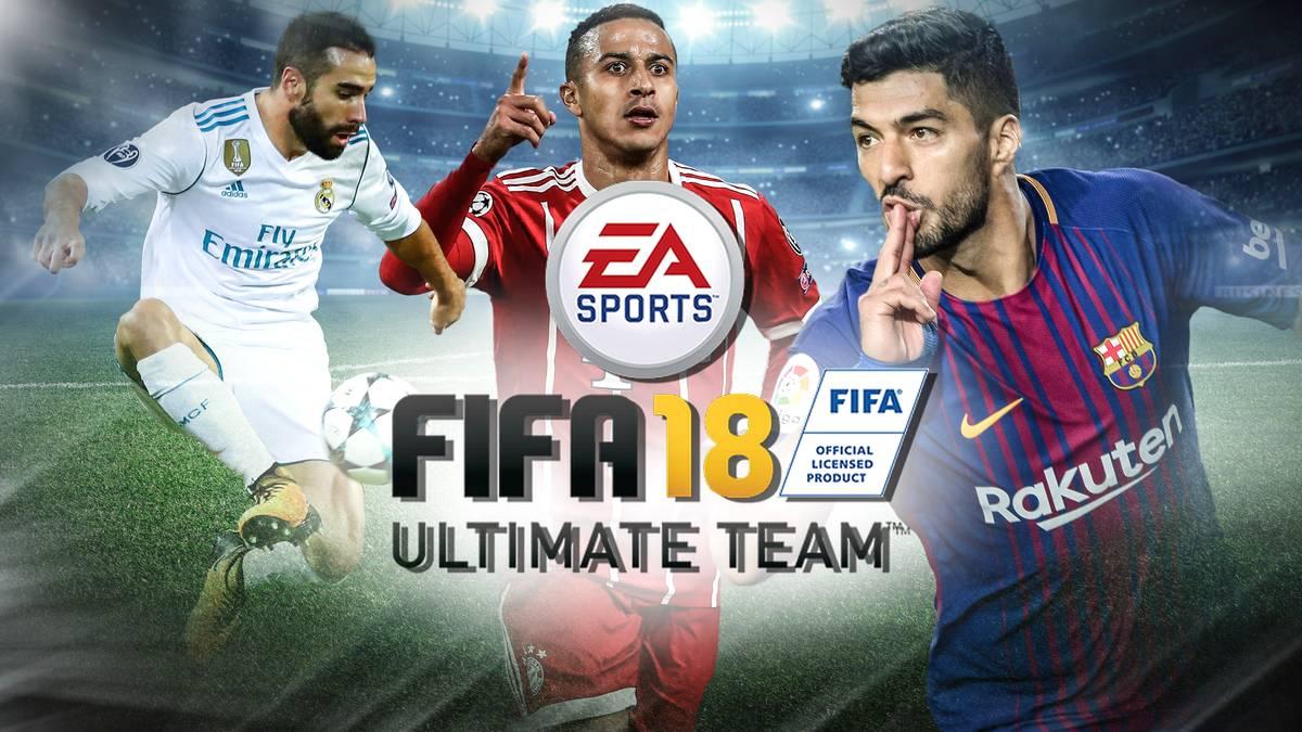 FIFA 18 Ultimate Team alle Ligen