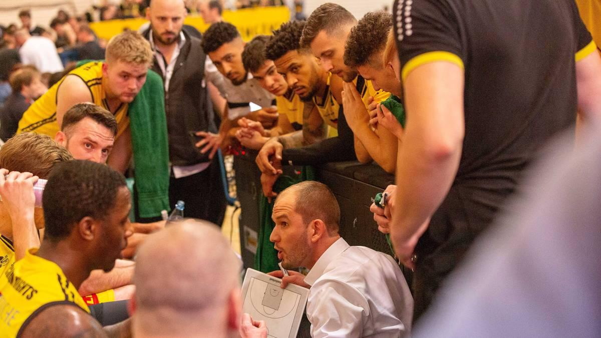 Die Kirchheim Knights spielen in der ProA, der zweiten Liga im deutschen Basketball