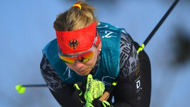 Sandra Ringwald sprintete auf Rang sieben