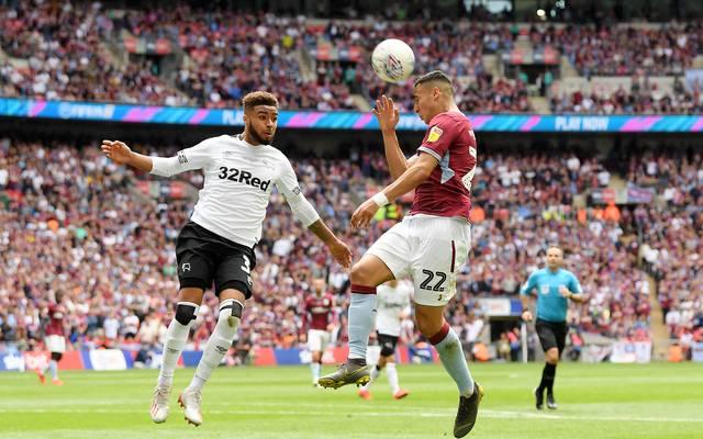Anwar El Ghazi erzielte das 1:0 für Aston Villa gegen Derby County