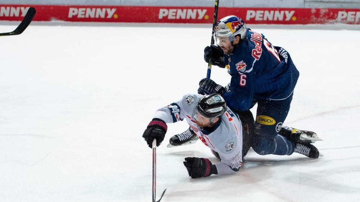 Der EHC Red Bull München behält gegen die Nürnberg Ice Tigers klar die Oberhand