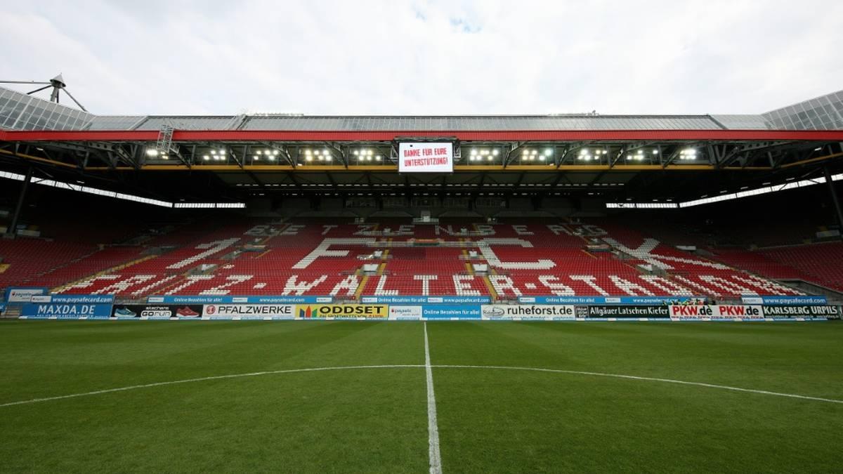 Der 1. FC Kaiserslautern will für Hochwasser-Opfer sammeln