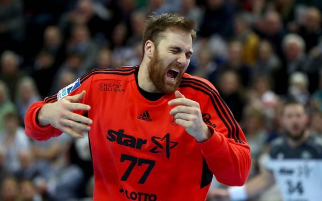 Andreas Wolff konnte die Niederlage des THW Kiel in Veszprem nicht verhindern