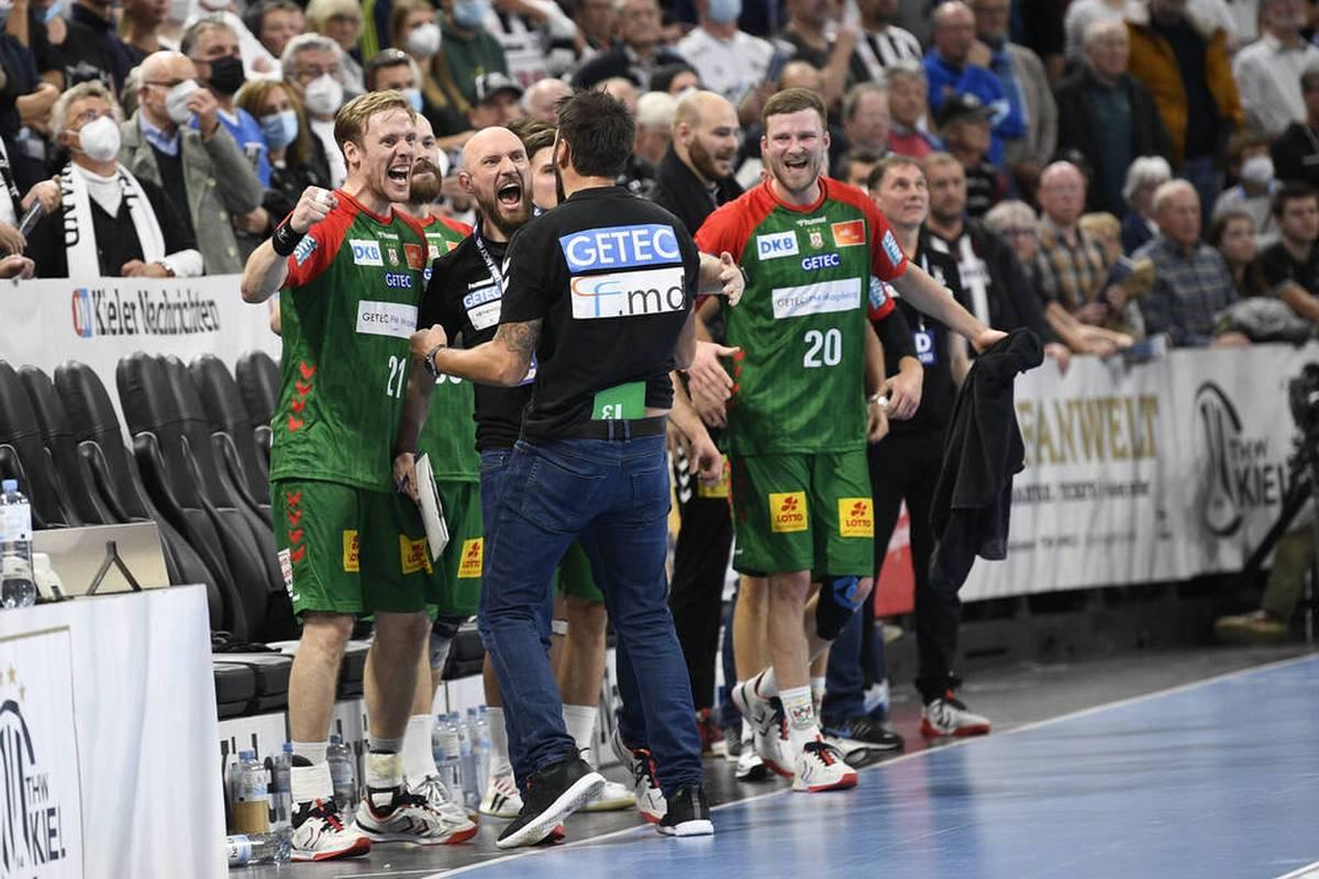 Der SC Magdeburg hat auch die Festung Kiel genommen und meldet ernsthafte Ansprüche auf die deutsche Handball-Meisterschaft an.