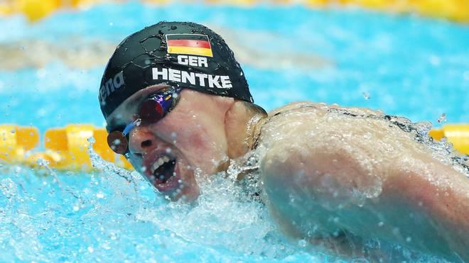 Schwimm-WM: Franziska Hentke wird Vierte über 200 Meter Schmetterling, Franziska Hentke verpasst über 200m Schmetterling eine Medaille nur knapp