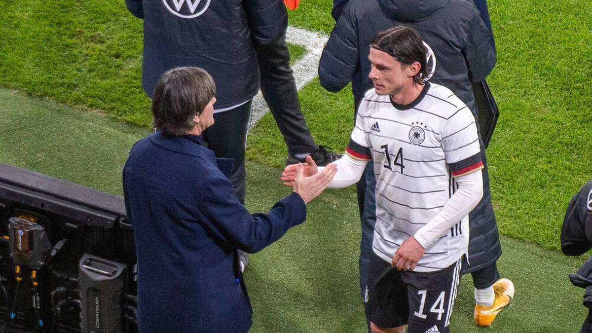 Nico Schulz (r.) wurde unter Joachim Löw zum Nationalspieler