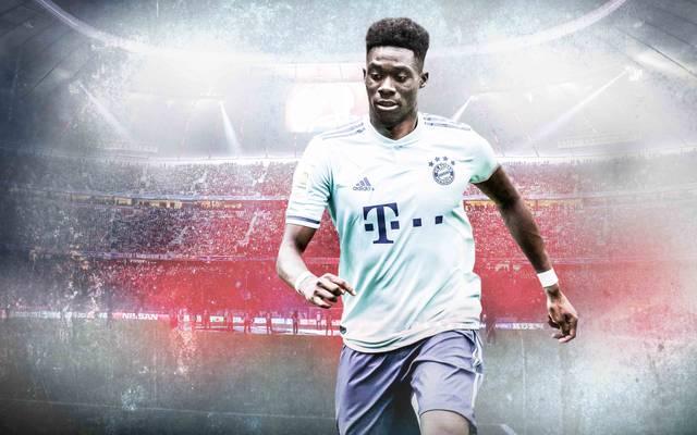 Alphonso Davies trägt ab Januar das Trikot des FC Bayern