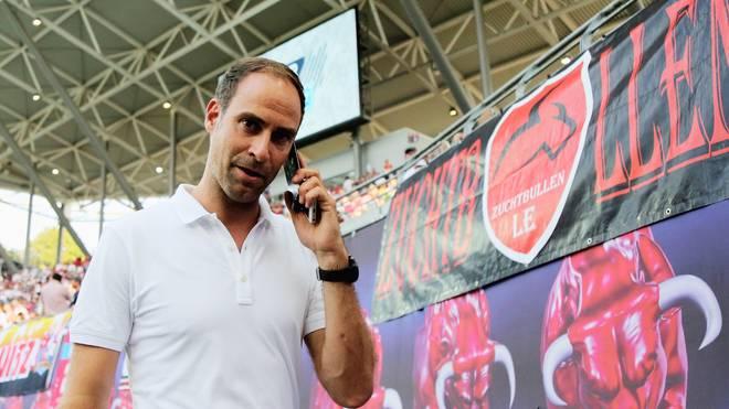 Oliver Mintzlaff freut sich auf Leipzigs Auftaktspiel gegen Union Berlin