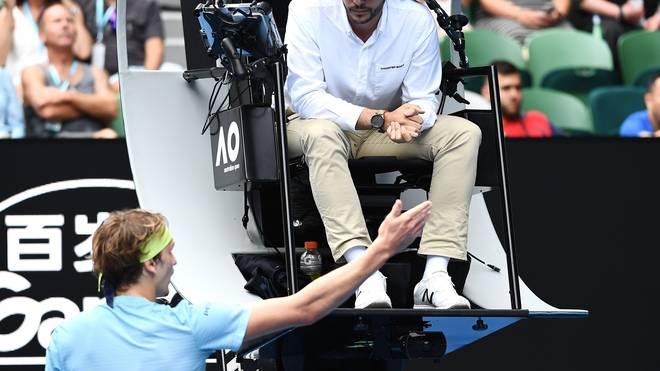 Alexander Zverev scheiterte in der dritten Runde der Australian Open