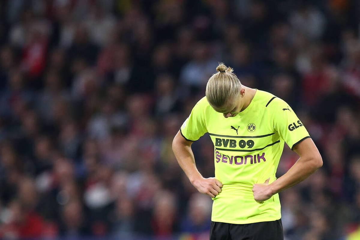 Borussia Dortmund muss in den nächsten Wochen auf seinen besten Torjäger verzichten: Erling Haaland fällt verletzt aus.
