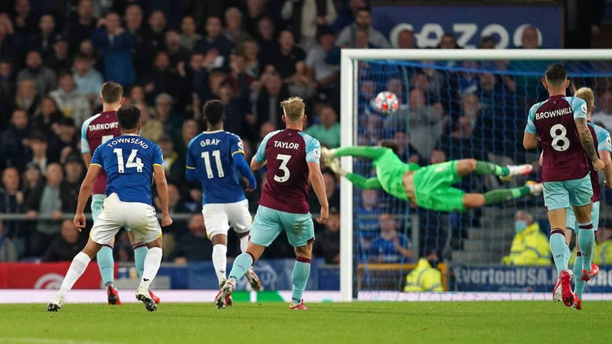 Andros Townsend traf beim Everton-Sieg sehenswert
