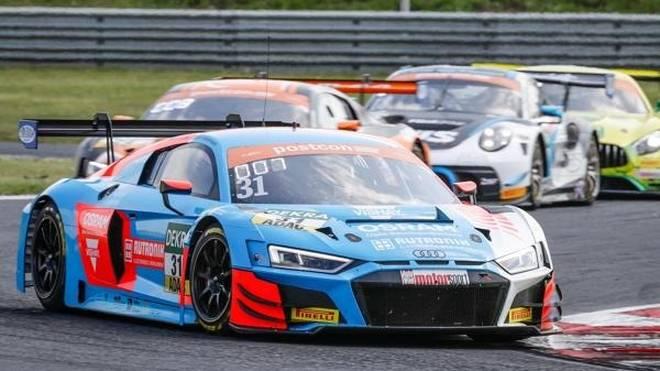 Die Audi-Piloten Patric Niederhauser und Kelvin van der Linde wollen ihre Tabellenführung verteidigen