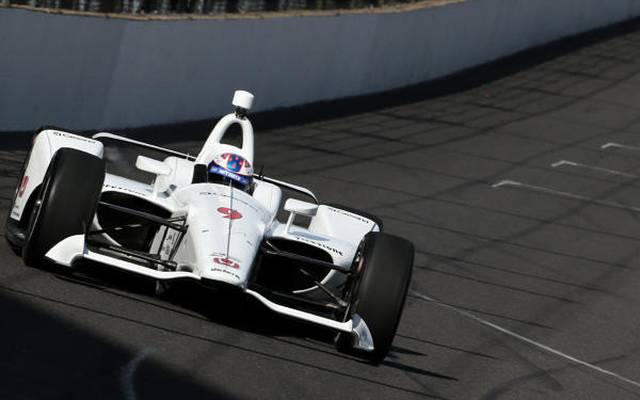 Scott Dixon testete zusammen mit James Hinchcliffe für Honda in Fort Worth und Indy