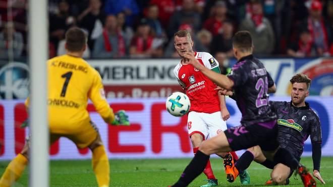 Regel-Revolution: Regel-Revolution: FIFA will Nachschüsse bei Elfmeter abschaffen - Der nachträgliche Hand-Elfmeter gegen Marc-Oliver Kempf vom SC Freiburg gegen Mainz 05 sorgte letzte Saison für viele Duskussionen