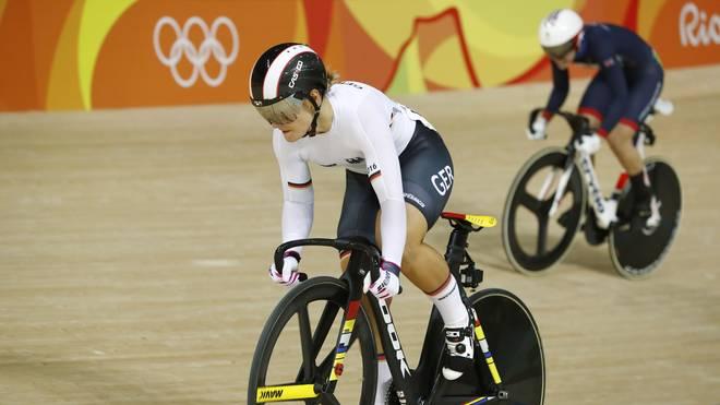 Kristina Vogel kollidierte im Training mit einem anderen Fahrer