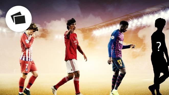Antoine Griezmann (l.) verlässt Atlético Madrid und könnte damit eine Kettenreaktion auslösen