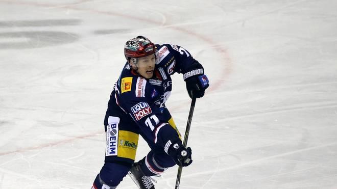 Eishockey: Red Bull München verpflichtet Blake Parlett, Der Kanadier Blake Parlett spielte 2018 für die Berliner Eisbären
