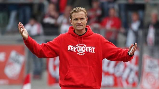 David Bergner trainierte zuletzt Rot-Weiß Erfurt