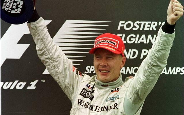 Der Sieg im Jahr 2000 war der einzige Erfolg Häkkinens beim Großen Preis von Belgien