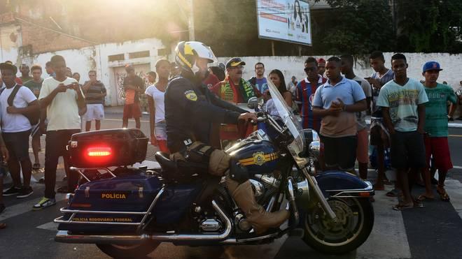 In Portugal durchsuchte die Polizei mehrere Räume von Fußballvereinen