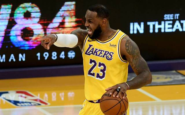 LeBron James führt die Lakers zum 5. Sieg in Folge