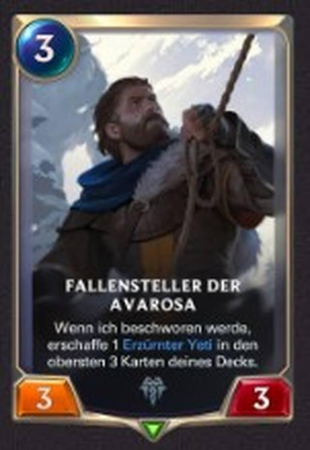 Fallensteller der Avarosa