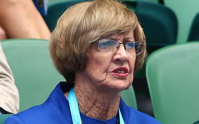 Margaret Court hat insgesamt 24 Grand-Slam-Titel im Einzel gewonnen