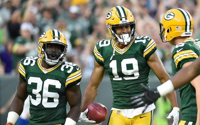 Equanimeous St. Brown (M.) brachte die Packers in Führung