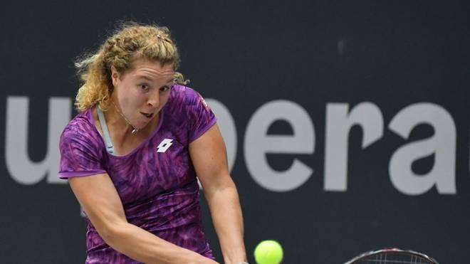 Anna-Lena Friedsam besiegte in Linz die an Nummer zwei gesetzte Belinda Bencic