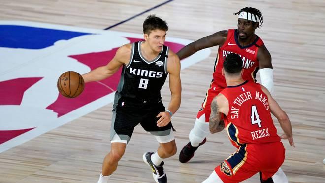 Bogdan Bogdanovic (l.) gelang gegen die New Orleans Pelicans ein neuer Karrierebestwert