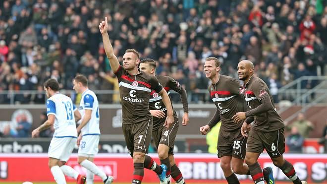 Der FC St. Pauli schlägt Magdeburg und bleibt auch im siebten Spiel in Folge ungeschlagen