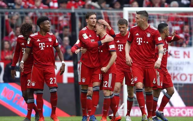 Der FC Bayern legte im Meisterschaftskampf vor