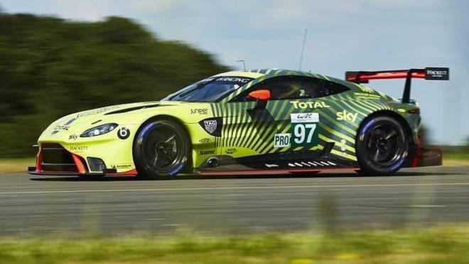 Aston Martin verpasst der GTE-Version des Vantage AMR einen neuen Anstrich