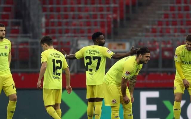 Würzburger Kickers mit Not-Elf gegen Darmstadt