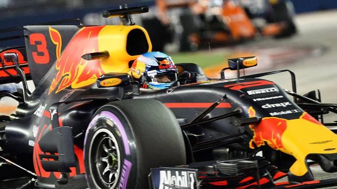 """Fährt Daniel Ricciardo ab 2019 für das Team """"Aston Martin Red Bull Racing""""?"""
